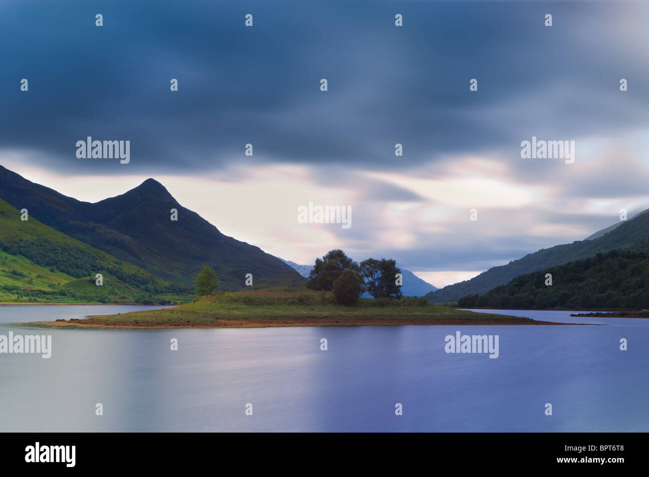 At Loch Leven - Stock Image