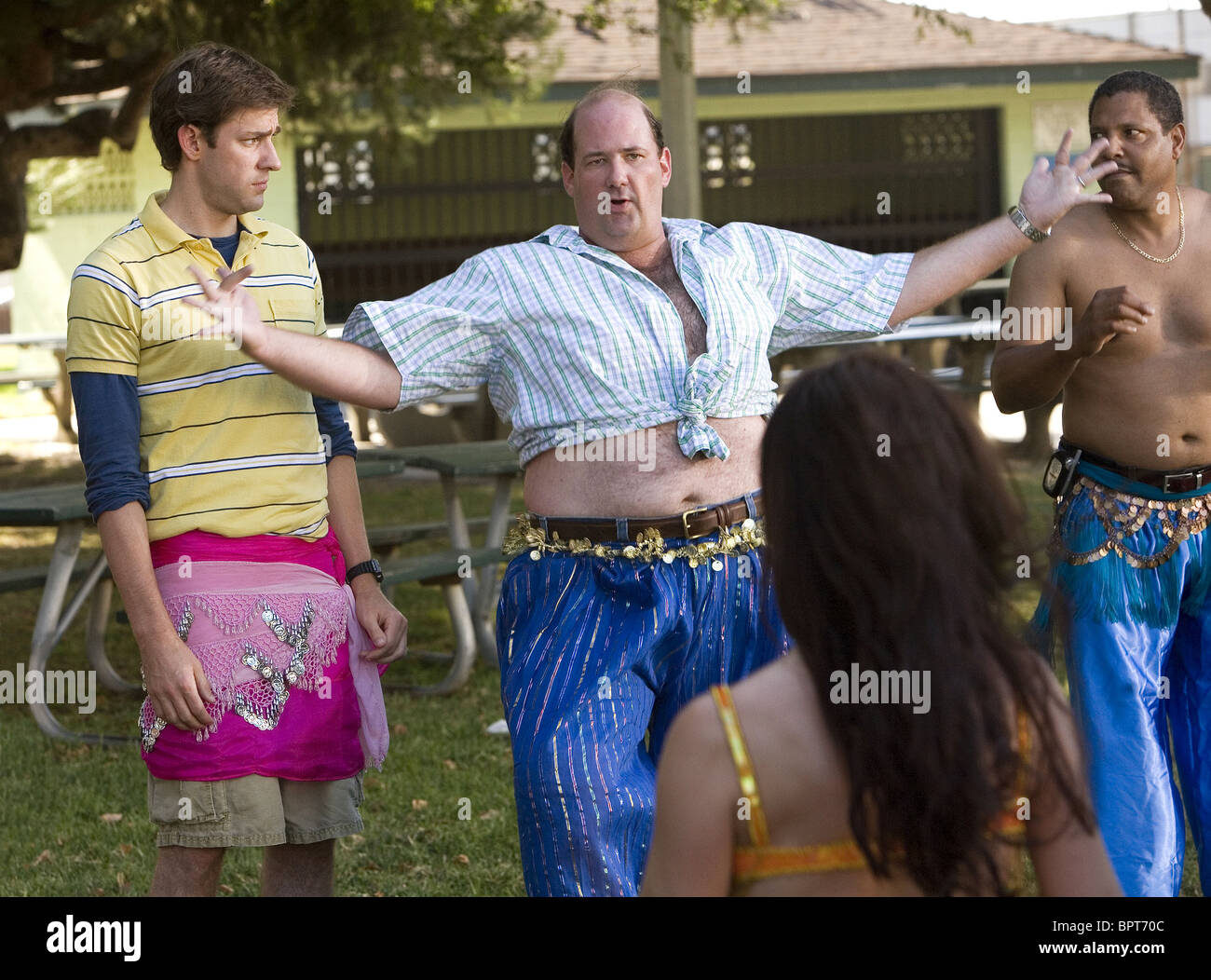 John Krasinski Brian Baumgartner License To Wed 2007 Stock Photo Alamy