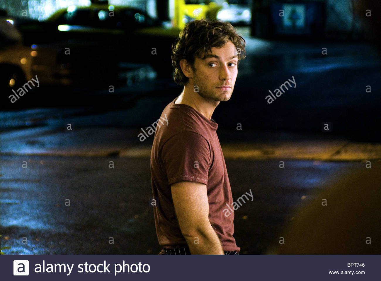 JUDE LAW MY BLUEBERRY NIGHTS (2007) - Stock Image