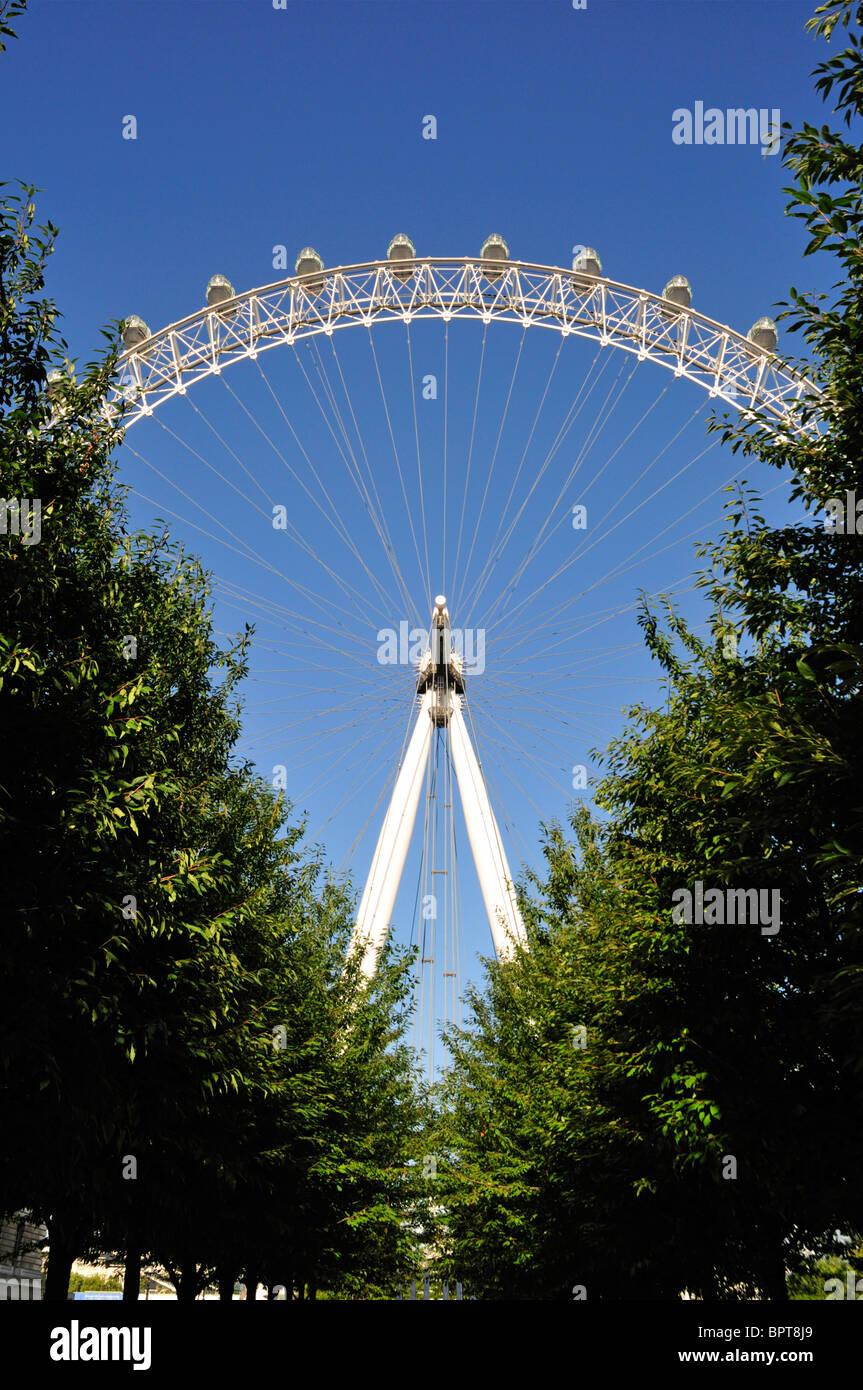 Coca-Cola London Eye, Southbank, London, United Kingdom - Stock Image