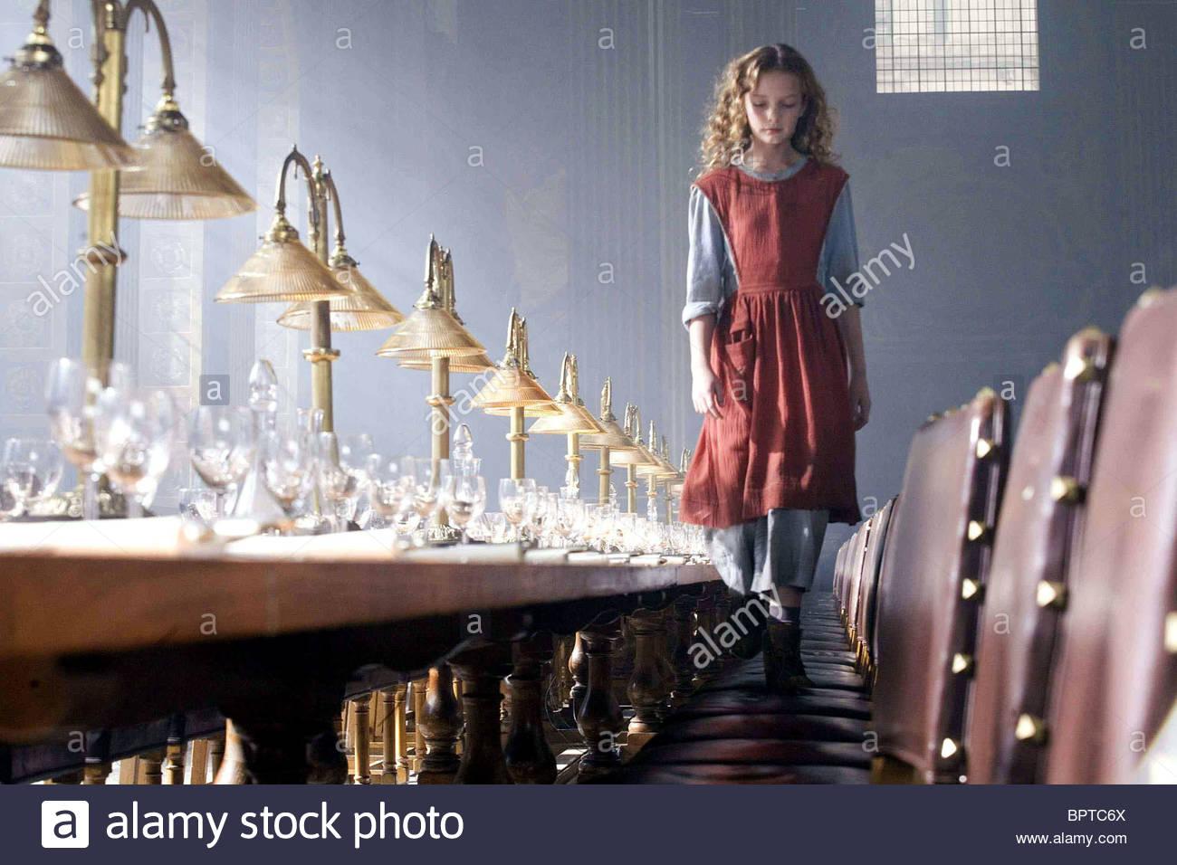 Dakota Blue Richards As Lyra Film Title His Dark Materials Stock