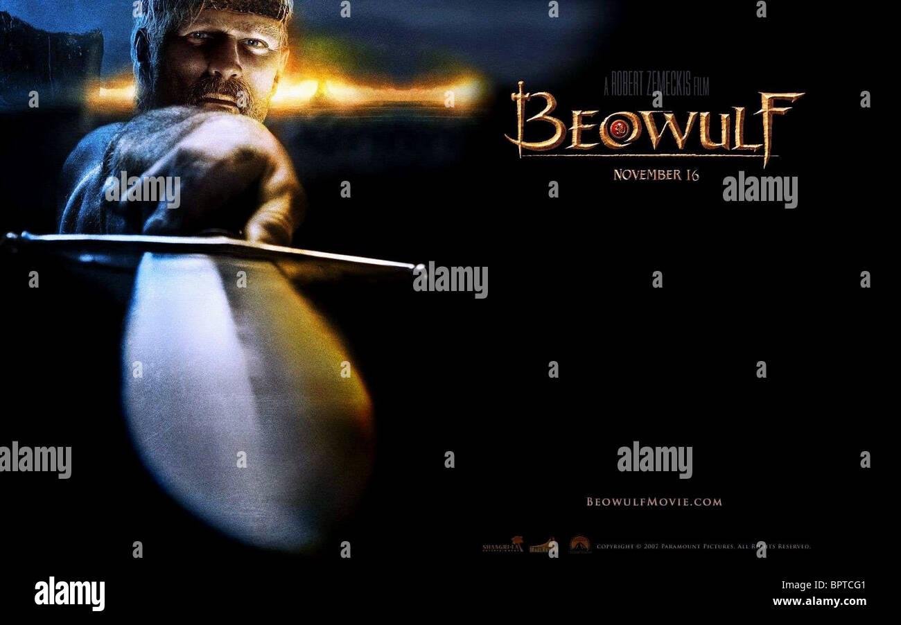 BEOWULF POSTER BEOWULF (2007) - Stock Image