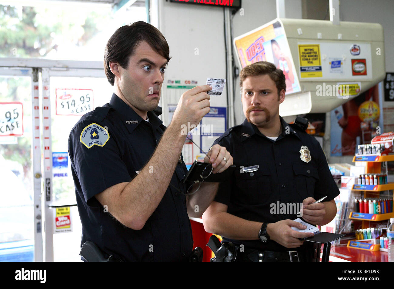 Bill Hader Seth Rogen Superbad 2007 Stock Photo Alamy