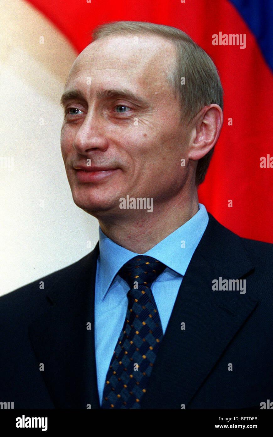 VLADIMIR PUTIN PRESIDENT OF RUSSIA 17 April 2000 - Stock Image