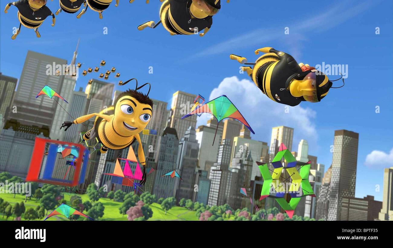 Barry B Benson Bee Movie 2007 Stock Photo Alamy