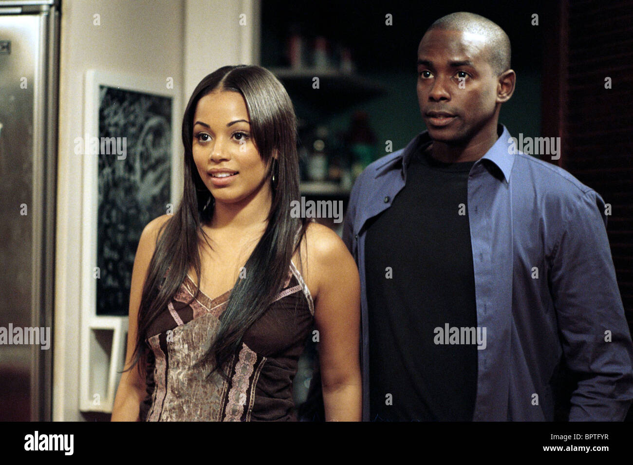 This Christmas Lauren London.Lauren London Keith Robinson This Christmas 2007 Stock