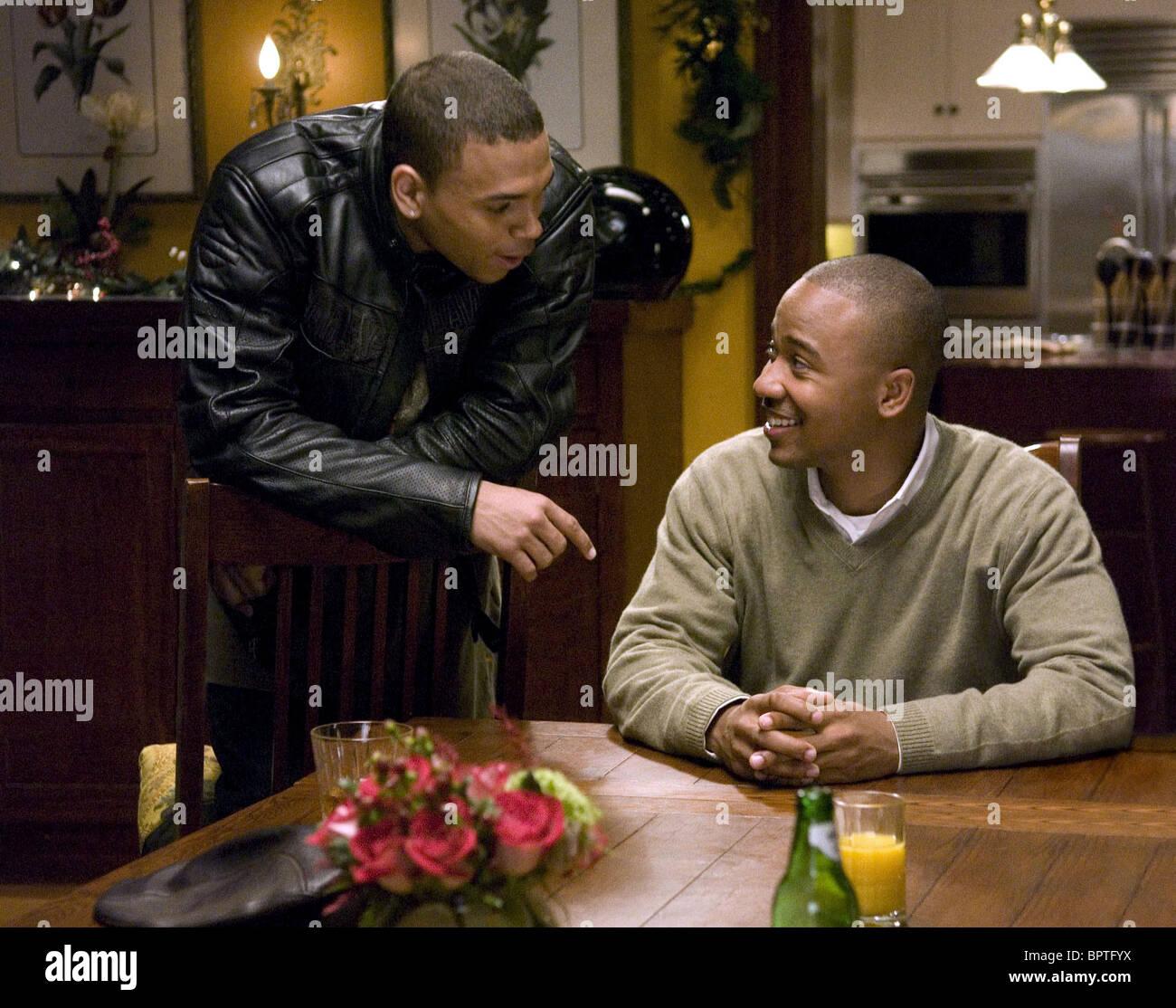 Chris Brown This Christmas.Chris Brown Columbus Short This Christmas 2007 Stock