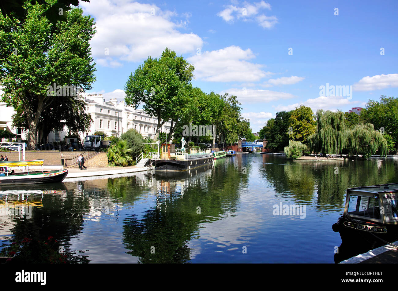 Little Venice, Maida Vale, City of Westminster, Greater London, England, United Kingdom Stock Photo