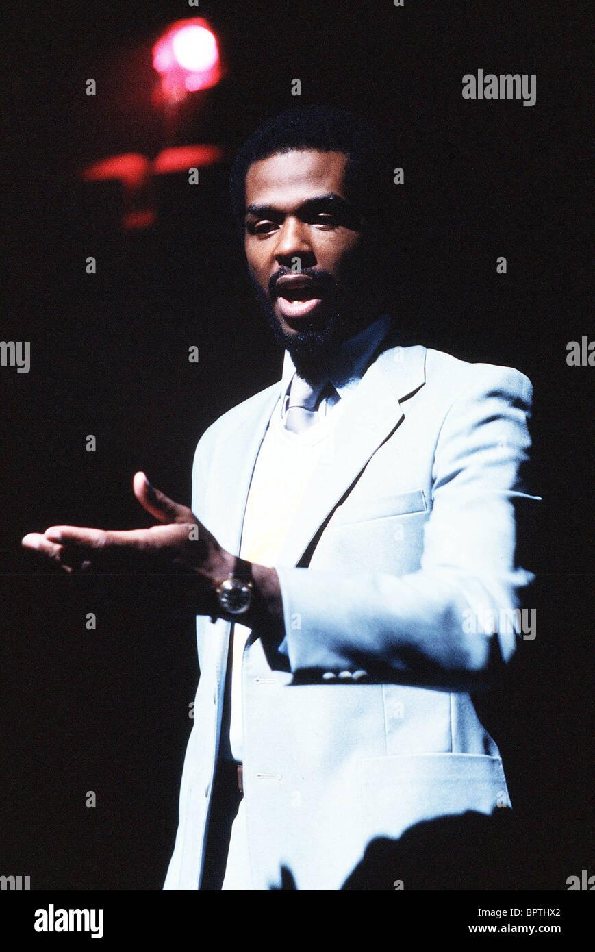 GARY BYRD SINGER (1984) - Stock Image