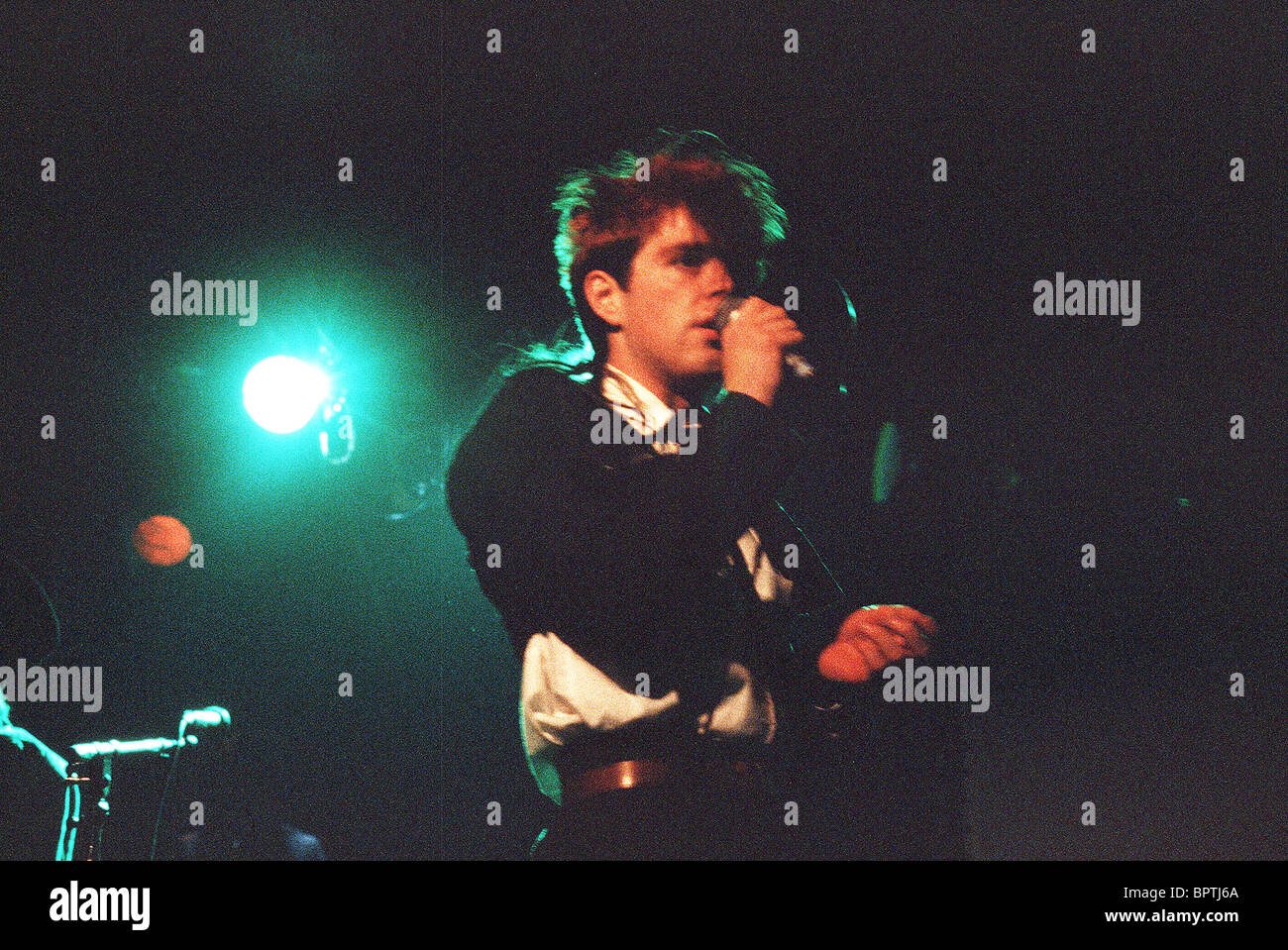 THOMPSON TWINS POP GROUP (1984) - Stock Image