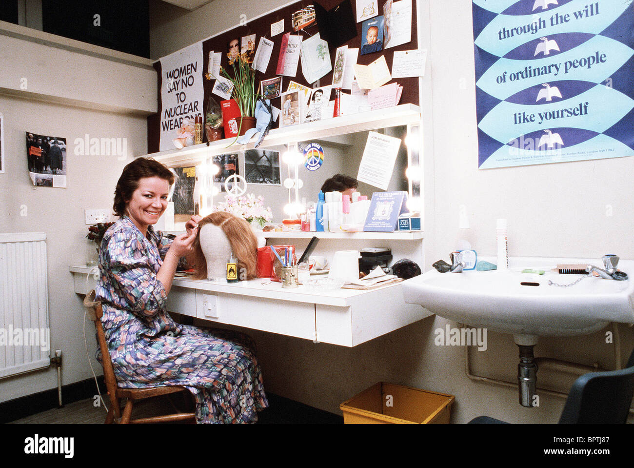 CLAIRE HIGGINS ACTRESS (1978) - Stock Image