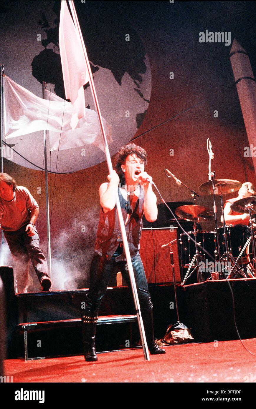 BONO POP GROUP 'U2' (1984) - Stock Image