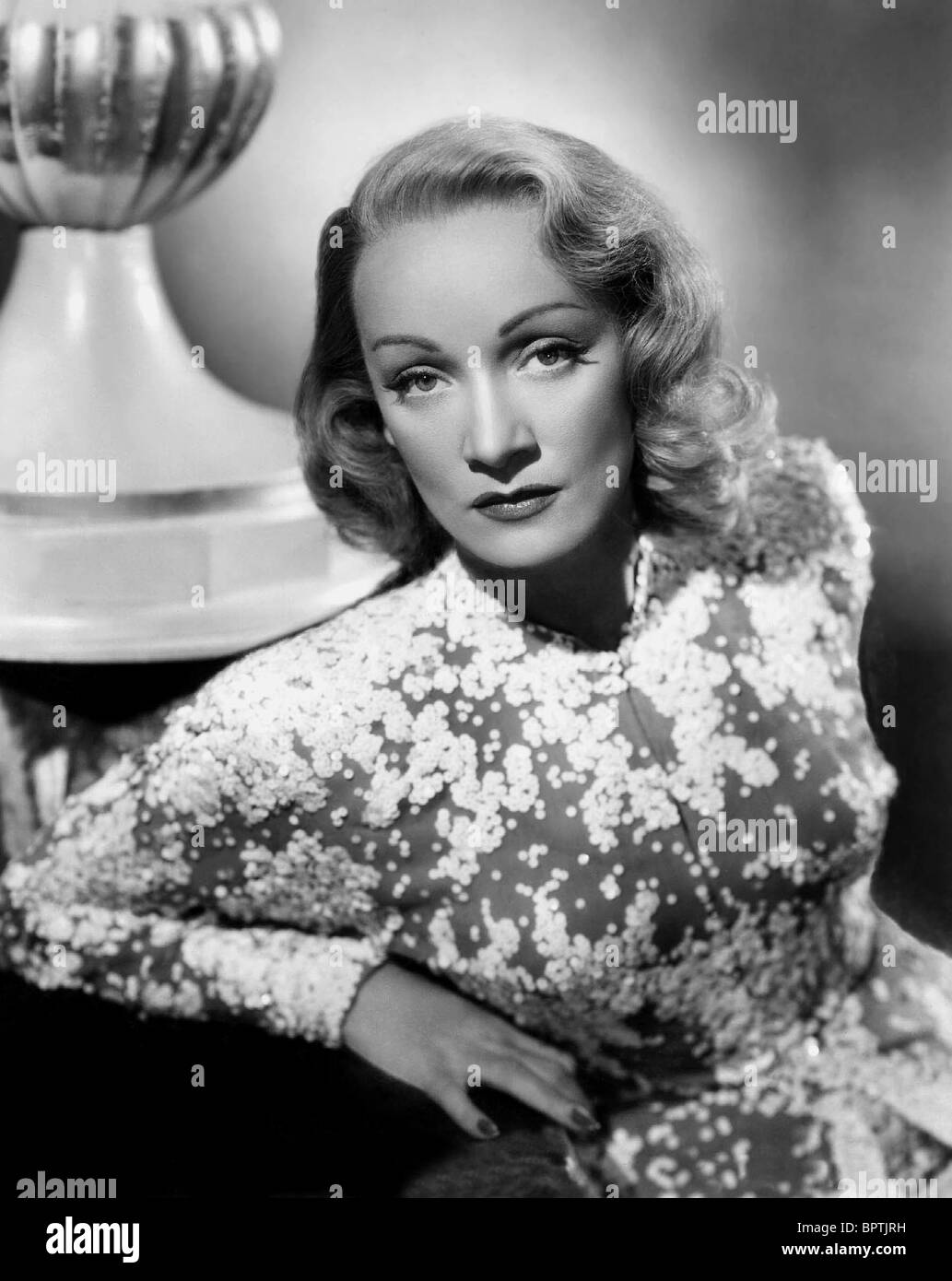 MARLENE DIETRICH ACTRESS (1946) - Stock Image