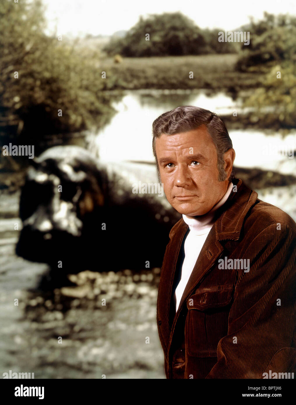MARSHALL THOMPSON ACTOR (1977) - Stock Image