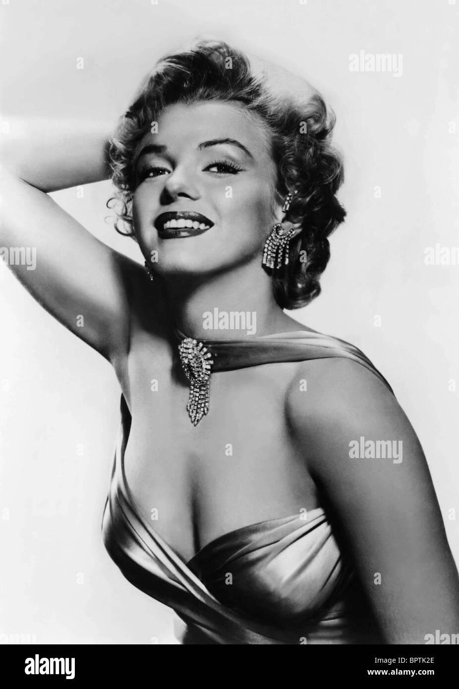 MARILYN MONROE ACTRESS (1956) - Stock Image