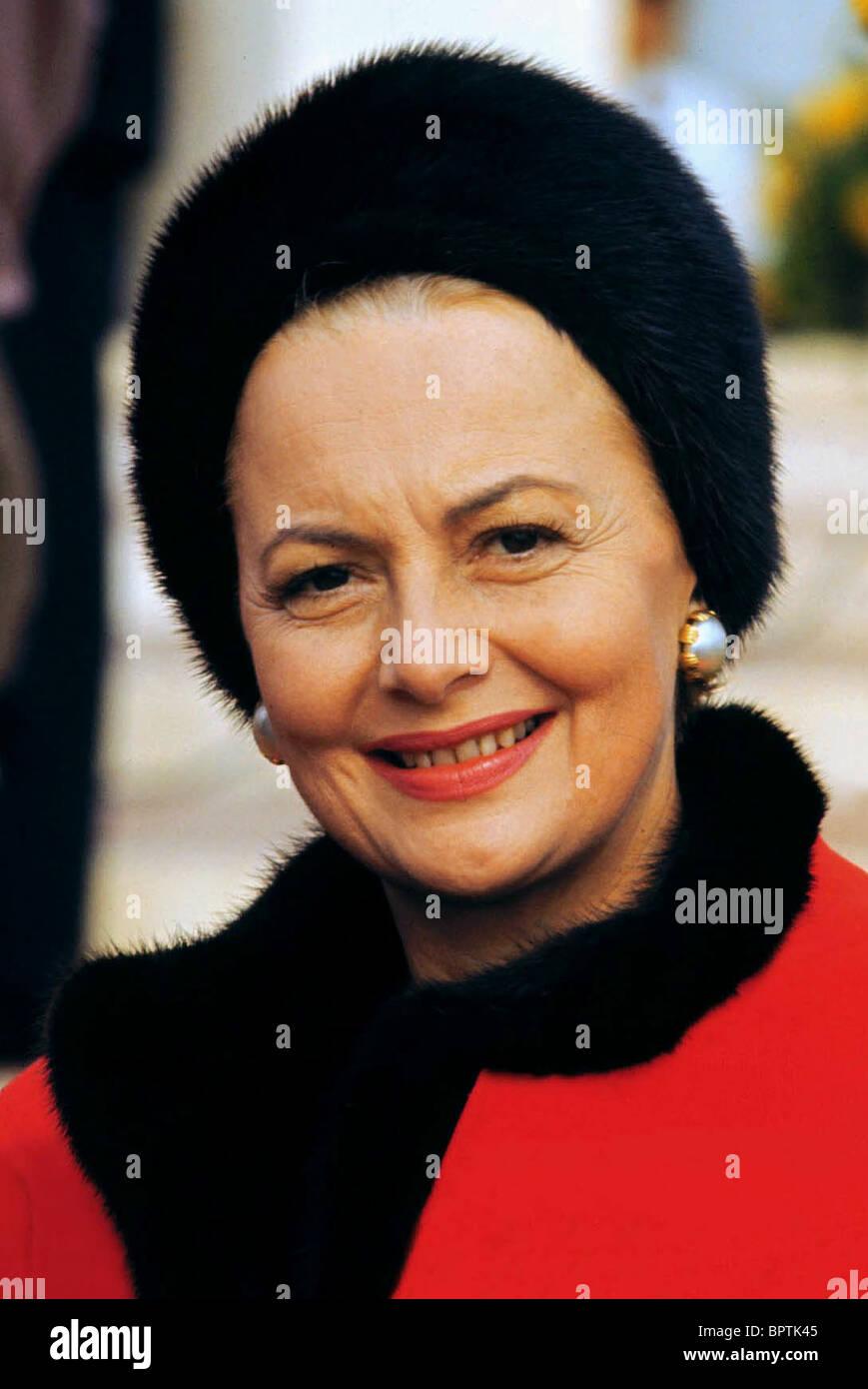 OLIVIA DE HAVILLAND ACTRESS (1975) - Stock Image