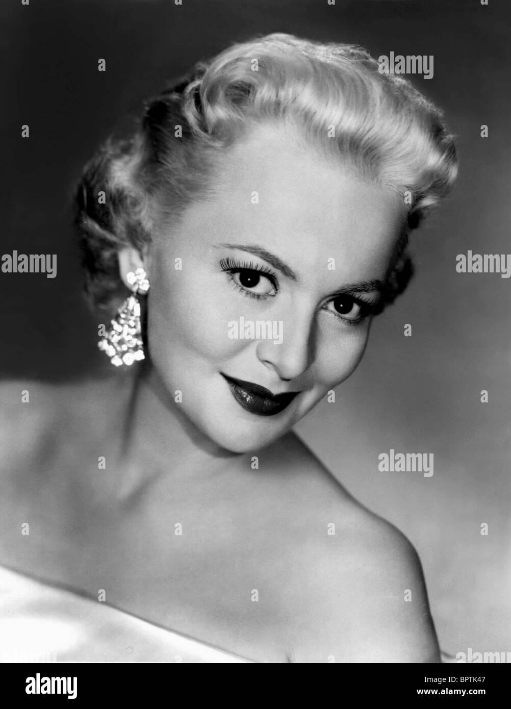 OLIVIA DE HAVILLAND ACTRESS (1956) - Stock Image