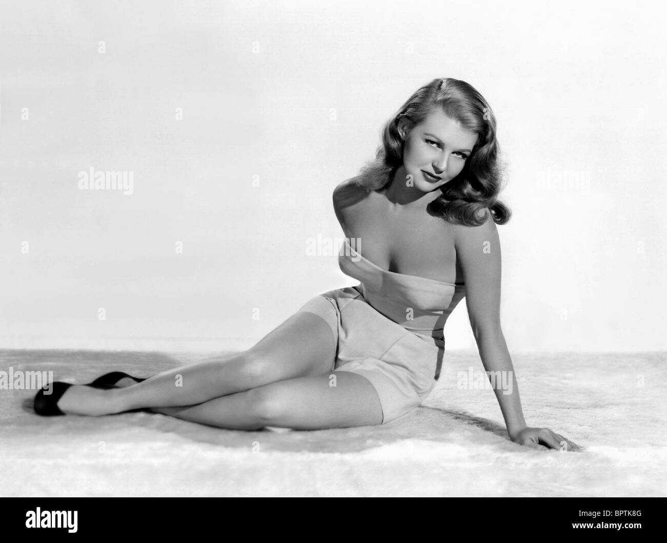 MARY CASTLE ACTRESS (1953) - Stock Image
