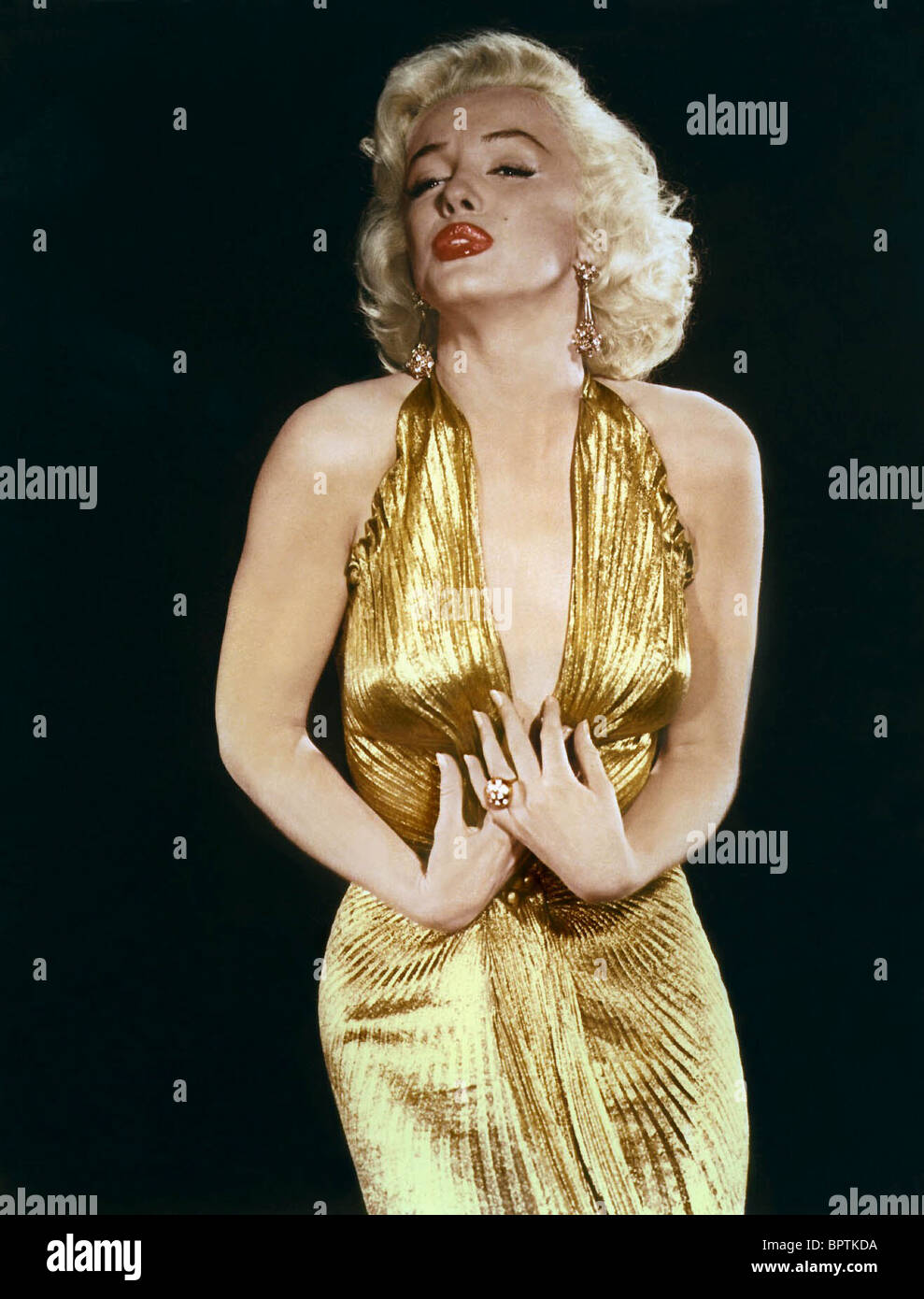MARILYN MONROE ACTRESS (1956) - Stock Image