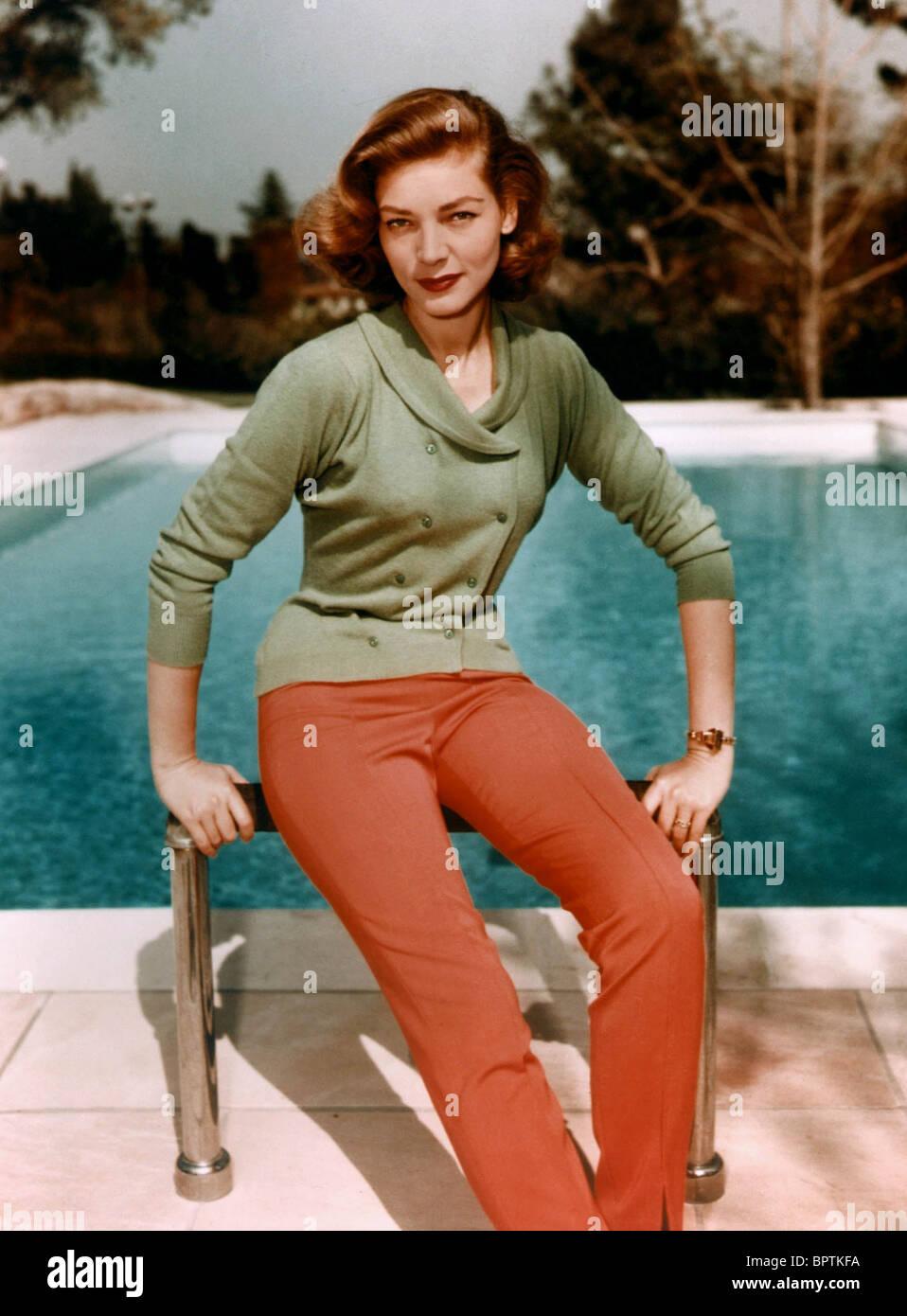 LAUREN BACALL ACTRESS (1950) - Stock Image