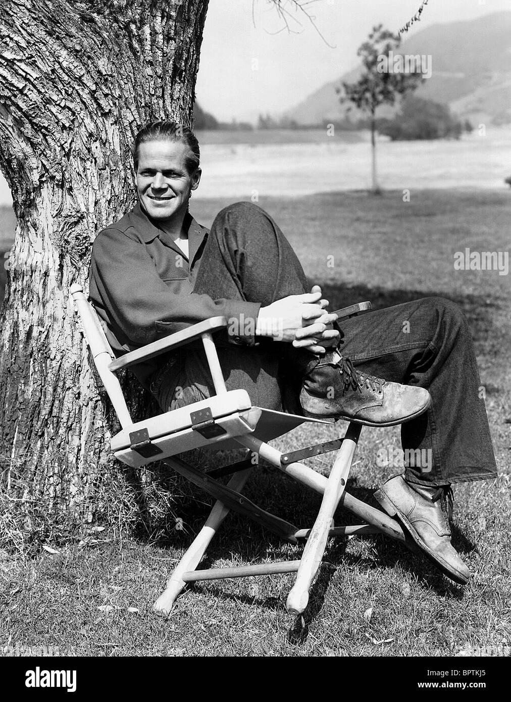 DAN DURYEA ACTOR (1941) - Stock Image