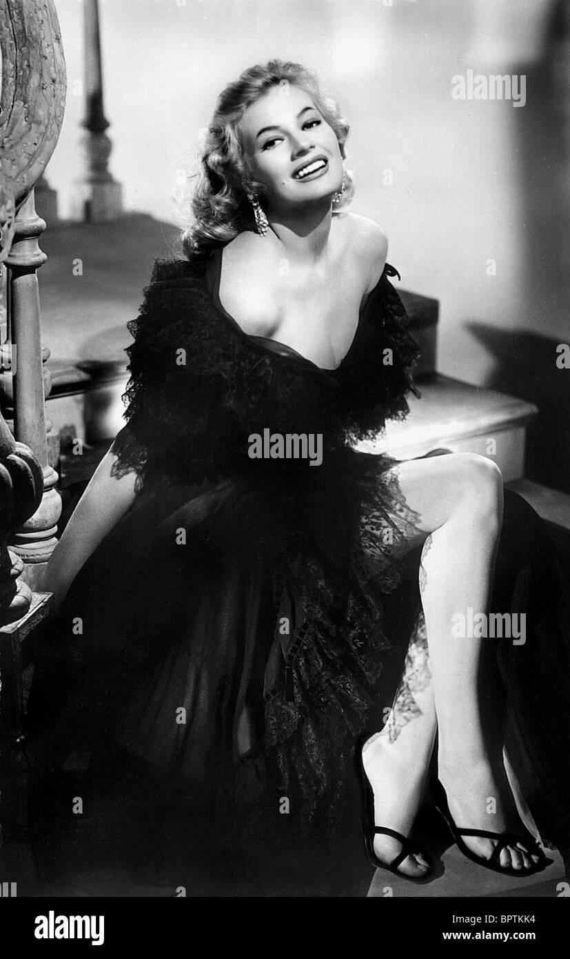 ANITA EKBERG ACTRESS (1956) - Stock Image