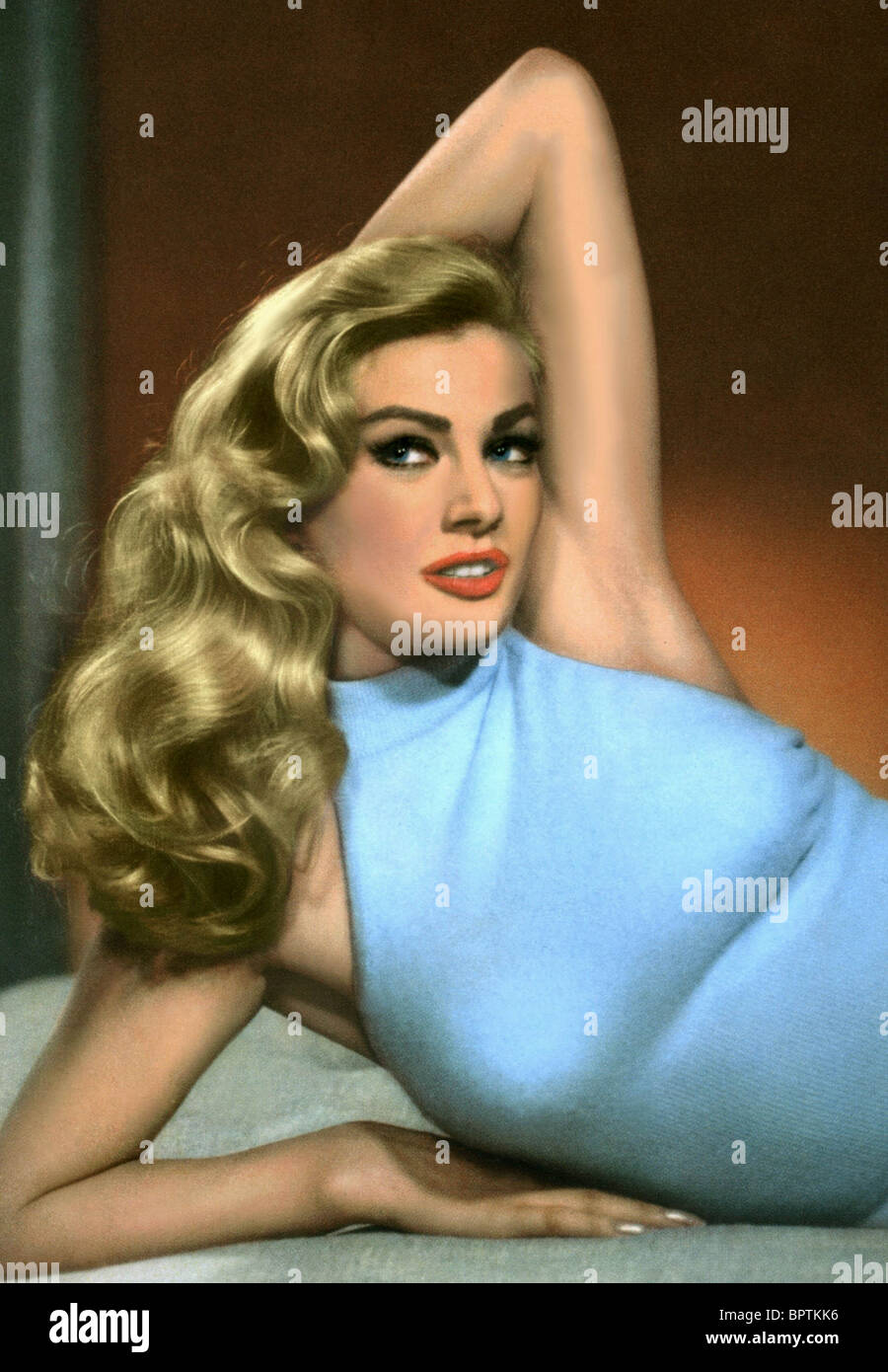 ANITA EKBERG ACTRESS (1956) - Stock Image