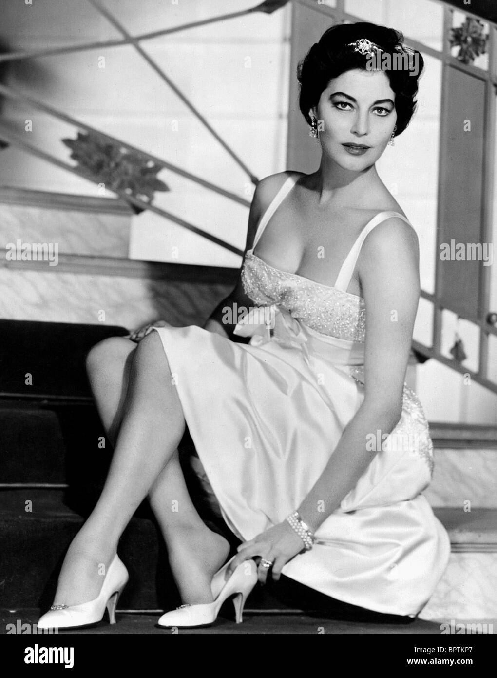 AVA GARDNER ACTRESS 1950 Stock Photo 31275167