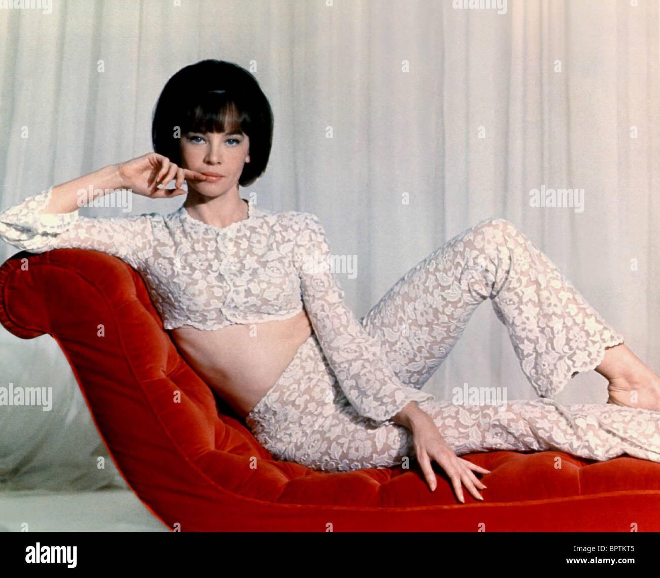 LESLIE CARON ACTRESS (1962) - Stock Image