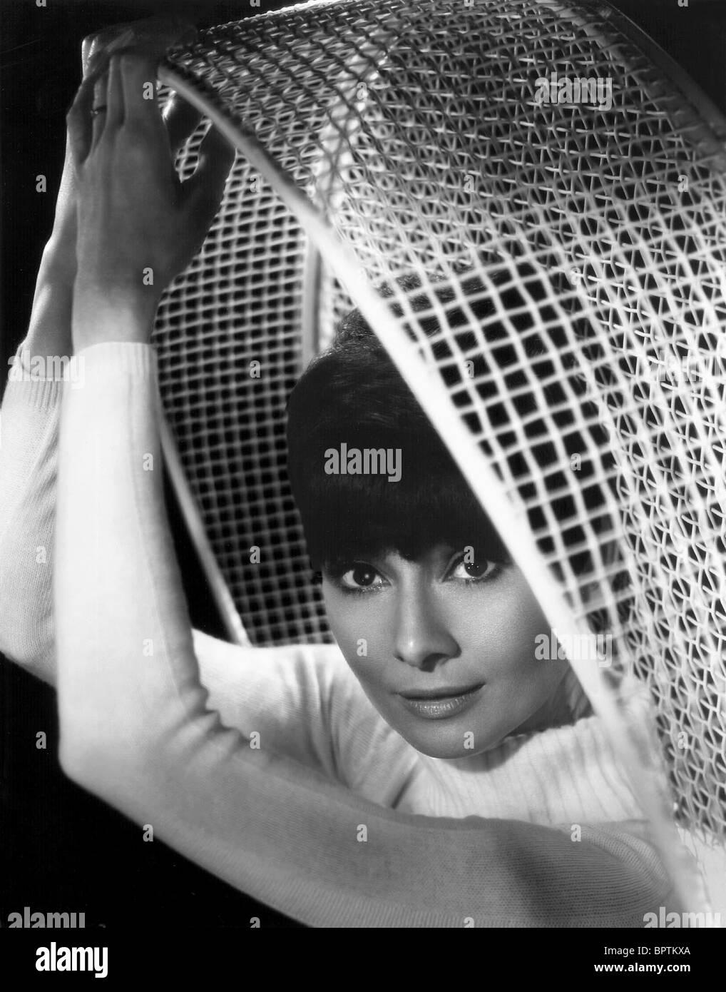 AUDREY HEPBURN ACTRESS (1963) - Stock Image