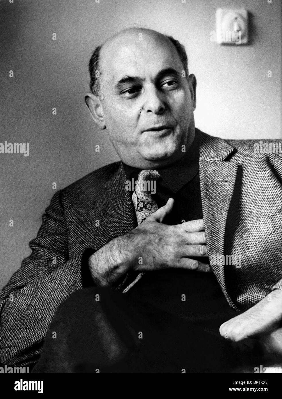 GEORG SOLTI CONDUCTOR (1970) - Stock Image