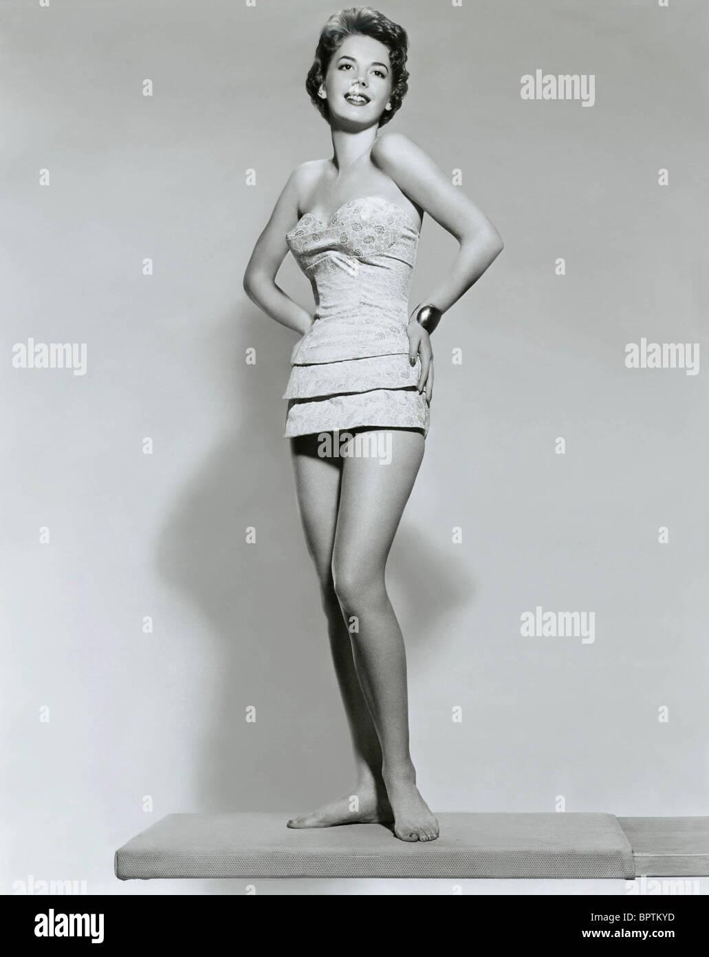 NATALIE WOOD ACTRESS (1956) - Stock Image