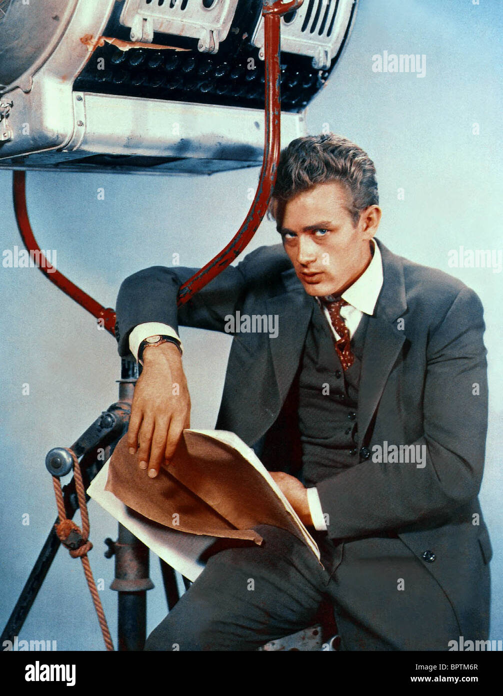 JAMES DEAN ACTOR (1955) - Stock Image