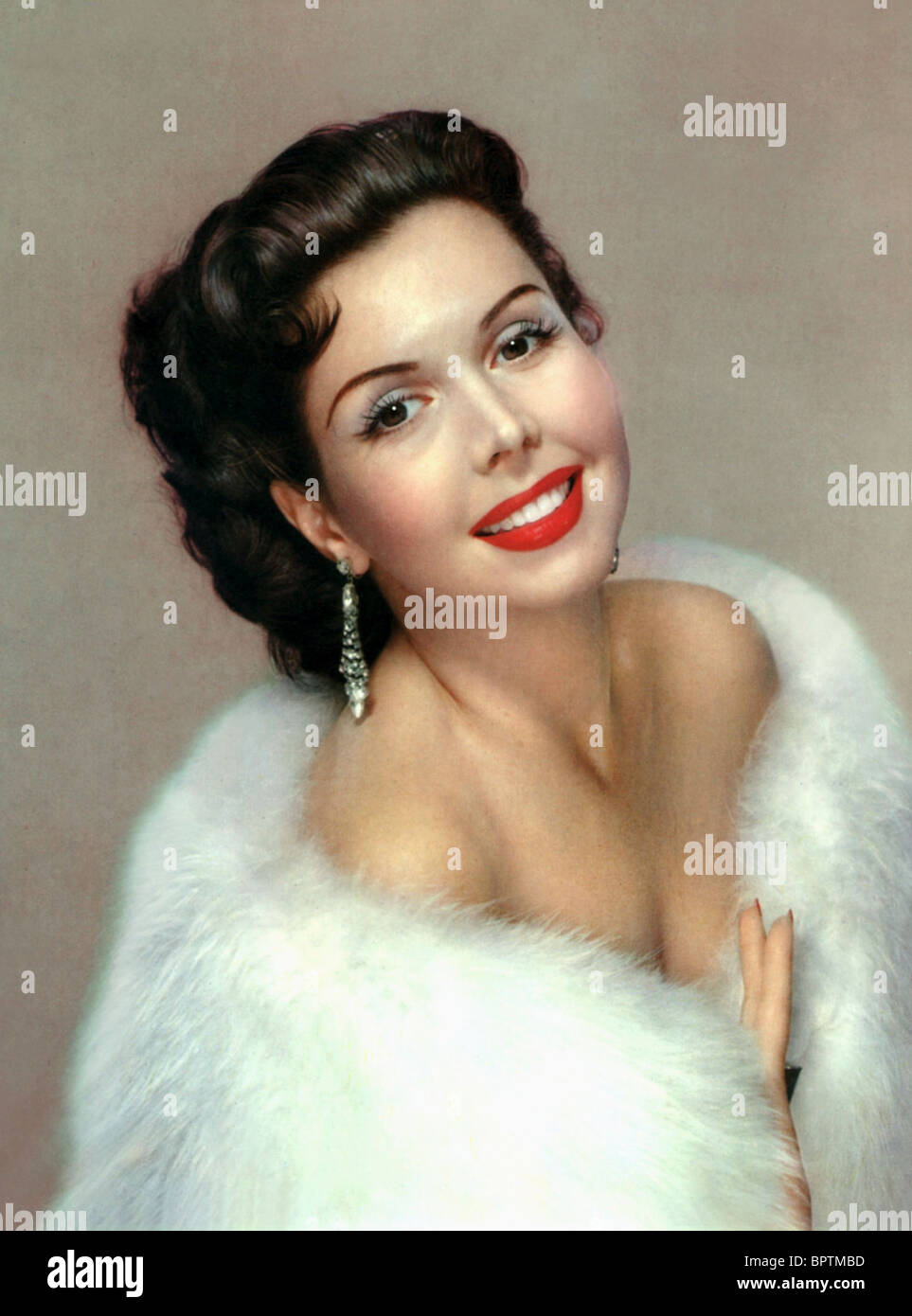 ANN MILLER ACTRESS (1953) - Stock Image