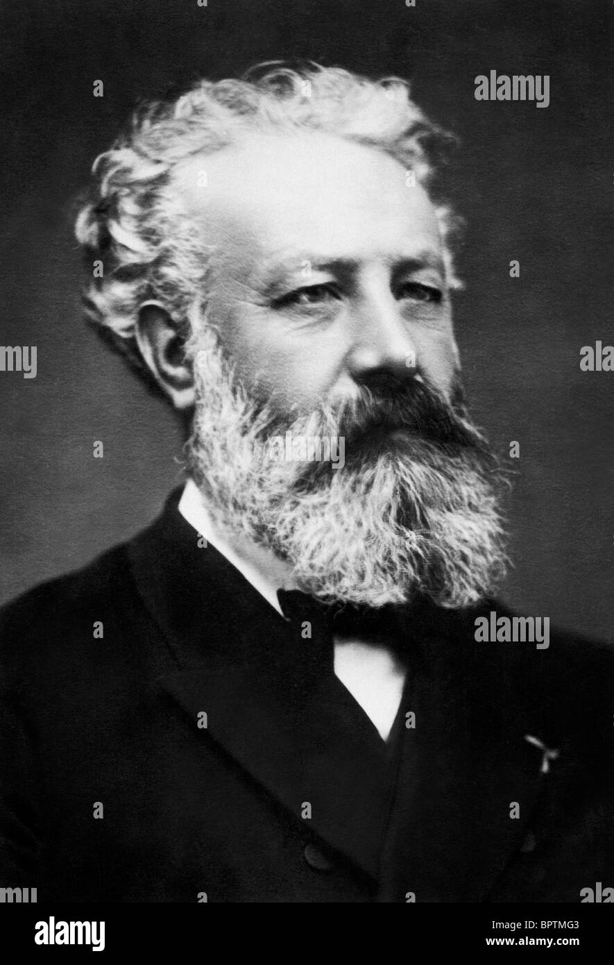 JULES VERNE WRITER AUTHOR (1878) - Stock Image
