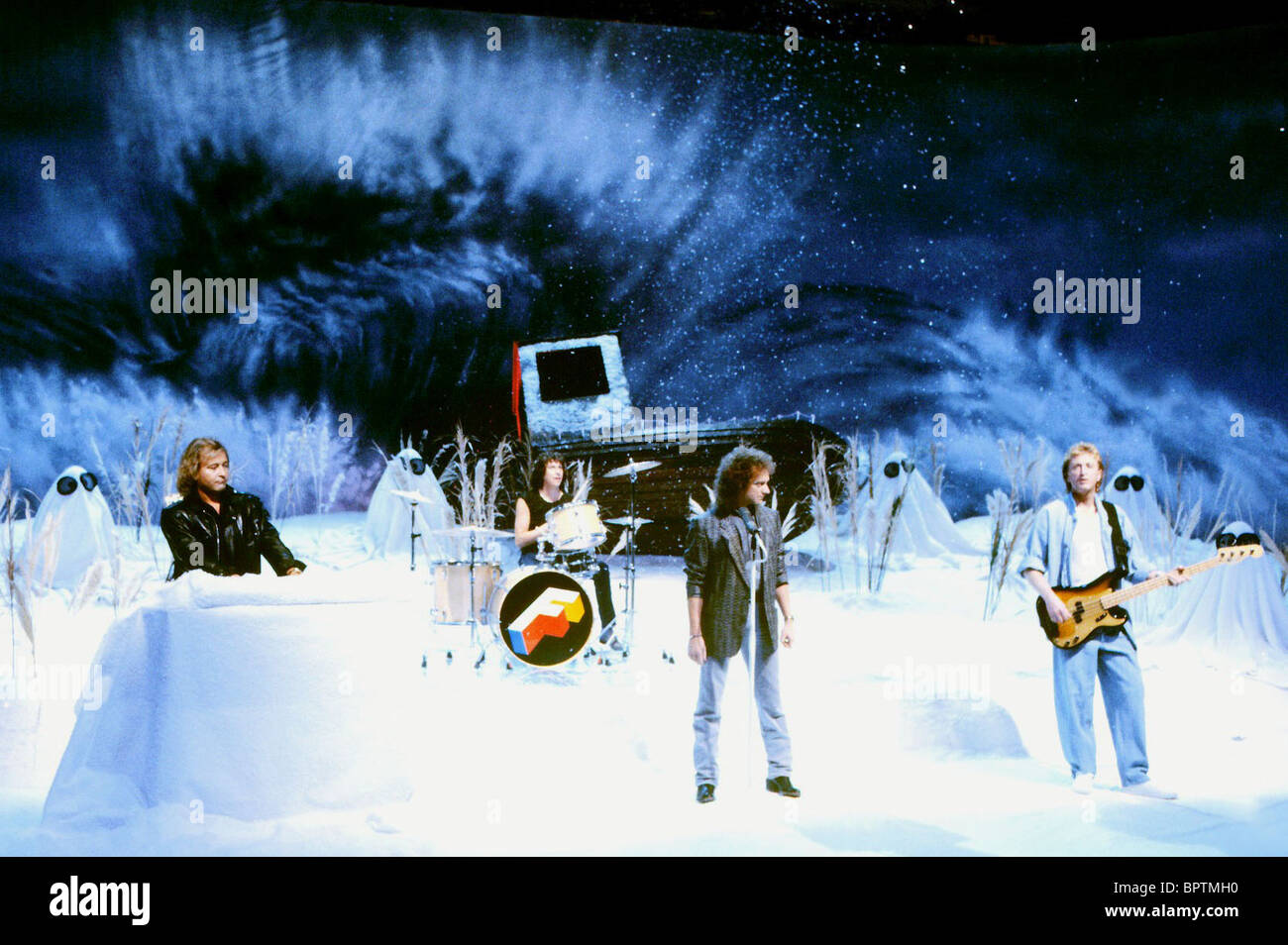 FOREIGNER FOREIGNER ROCK BAND (1985) - Stock Image