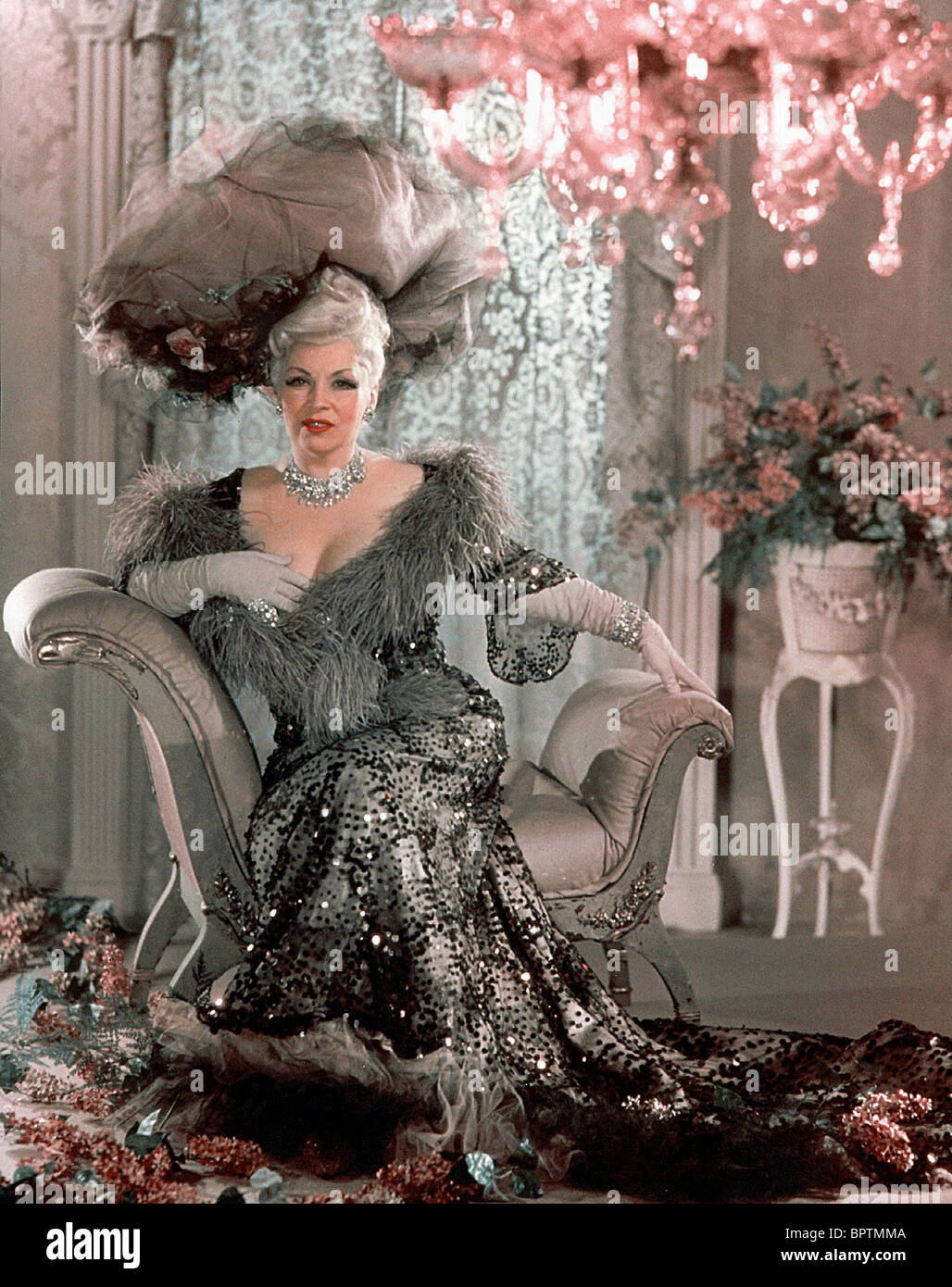MAE WEST ACTRESS (1950) - Stock Image