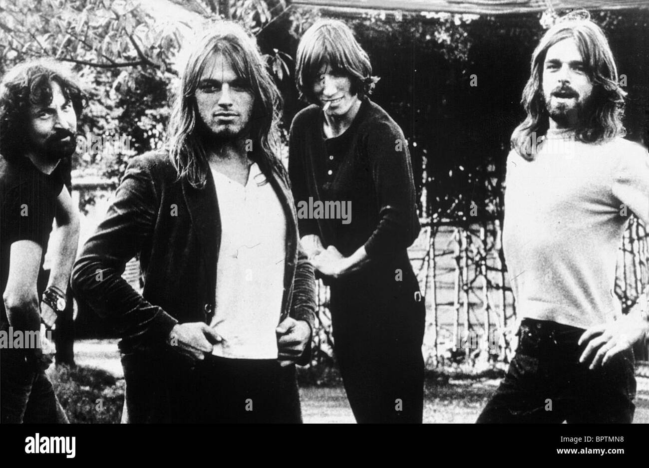 65d5a9bf NICK MASON DAVE GILMORE ROGER WATERS & RICHARD WRIGHT PINK FLOYD ROCK GROUP  (1970)