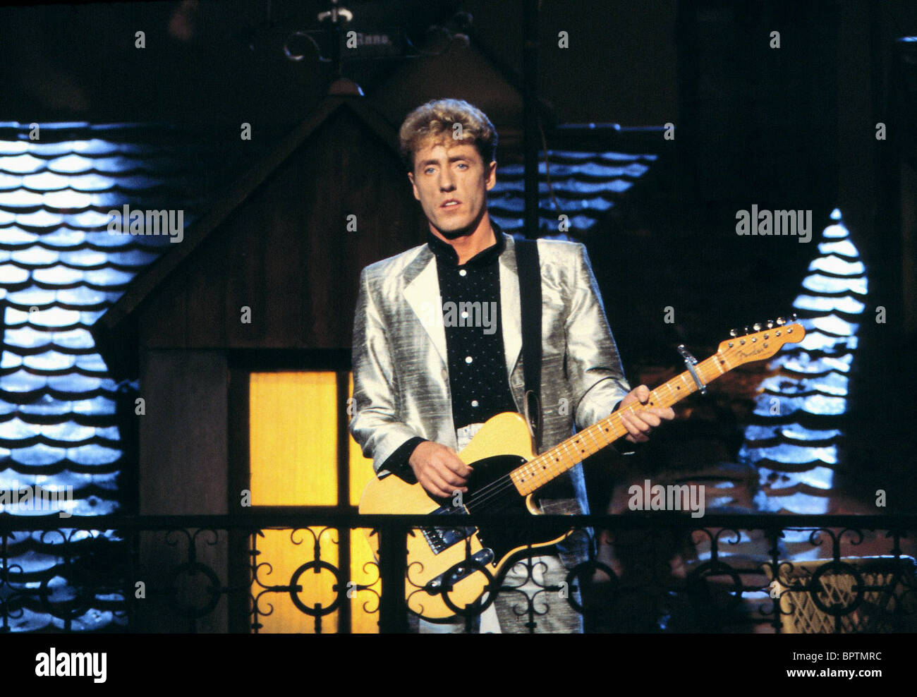ROGER DALTREY THE WHO (1981) - Stock Image