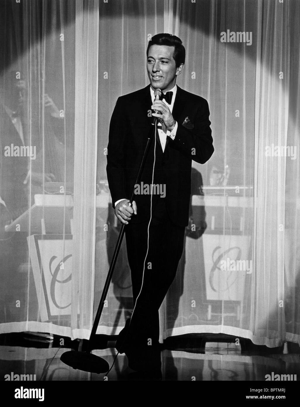 ANDY WILLIAMS SINGER (1964) - Stock Image