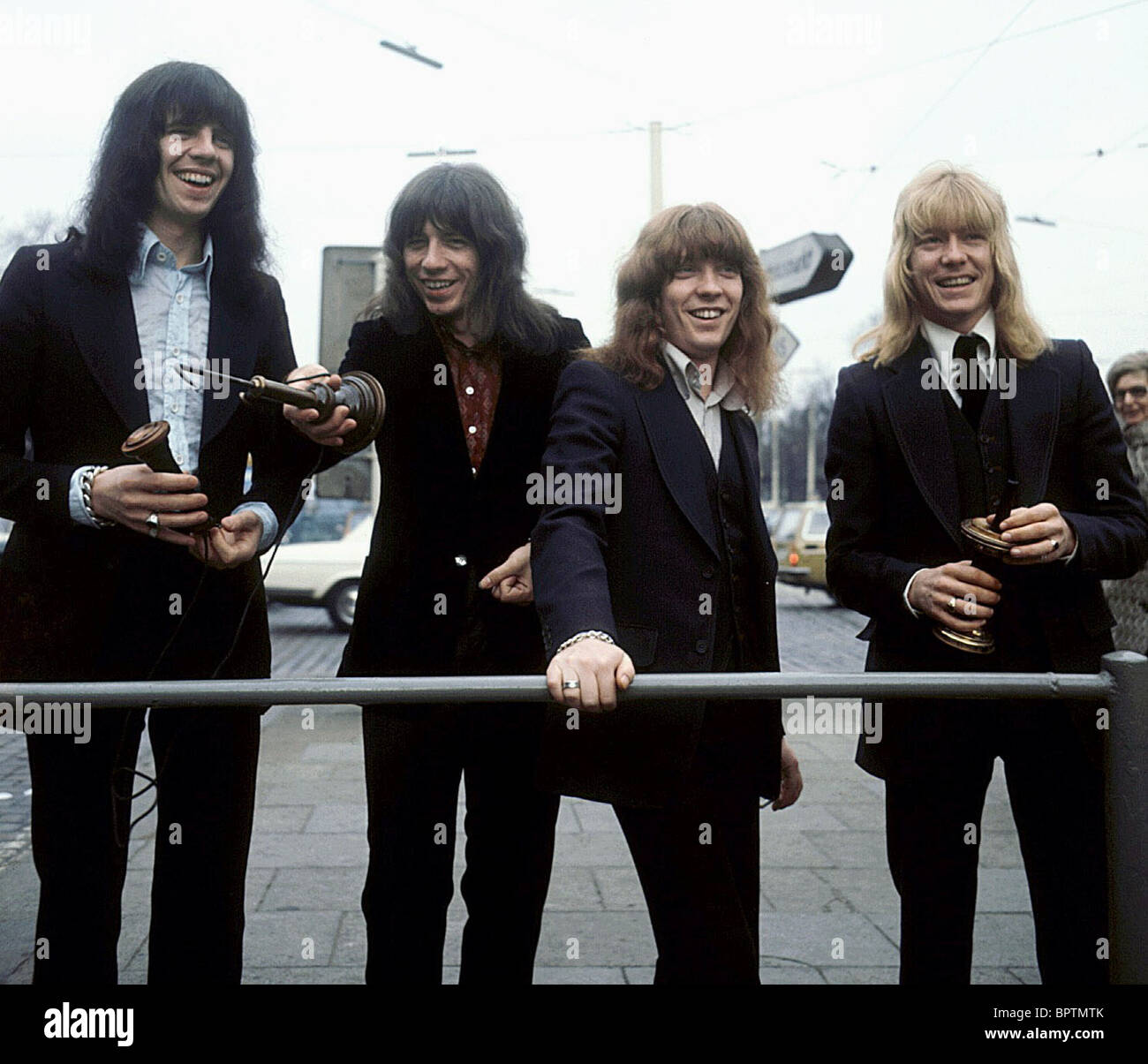 THE SWEET THE SWEET GLAM ROCK BAND (1971) - Stock Image