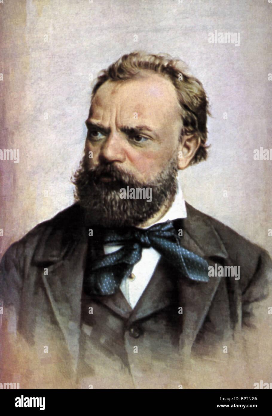 ANTON DVORAK COMPOSER (1882) - Stock Image