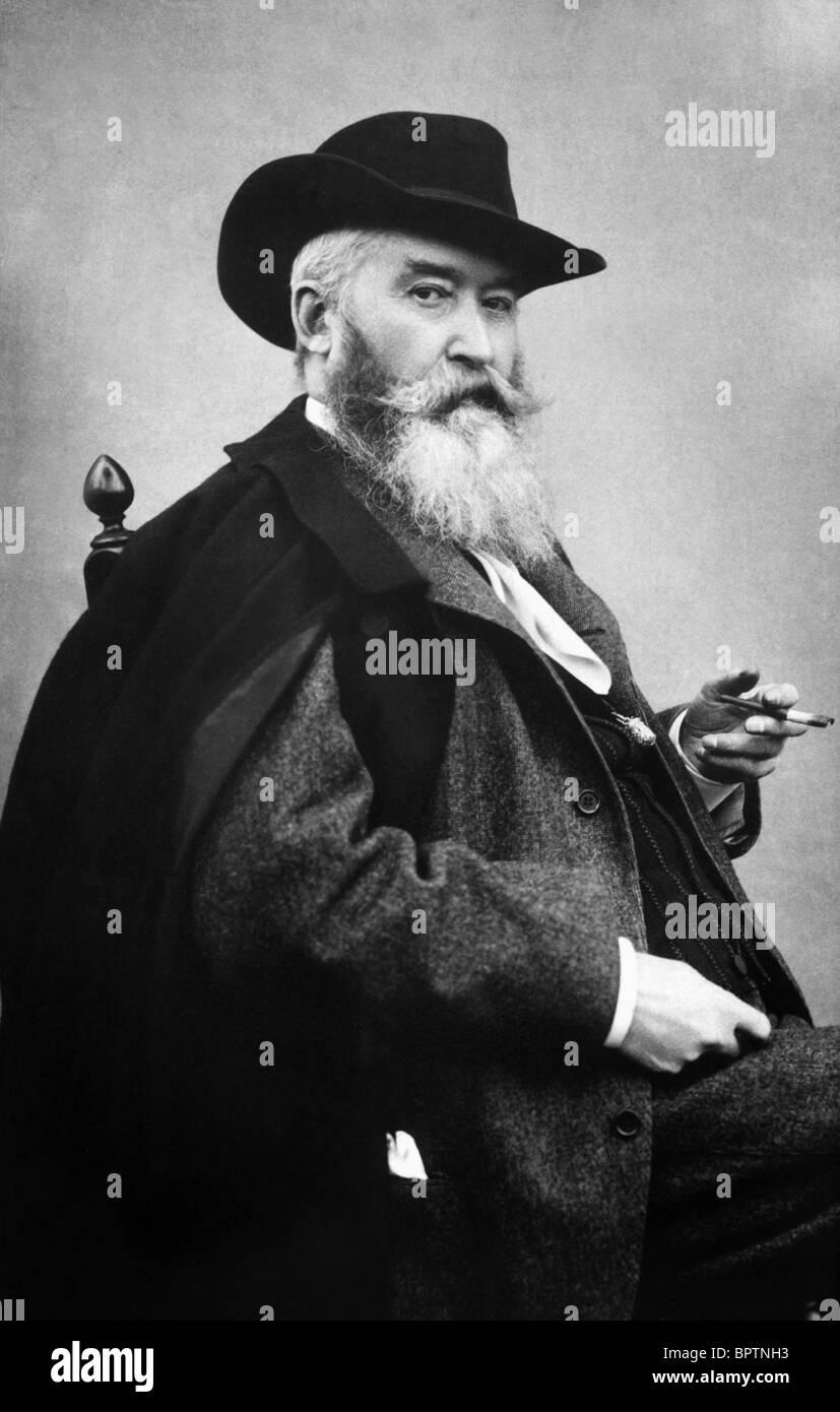 WILHELM BUSCH WRITER AUTHOR (1882) - Stock Image
