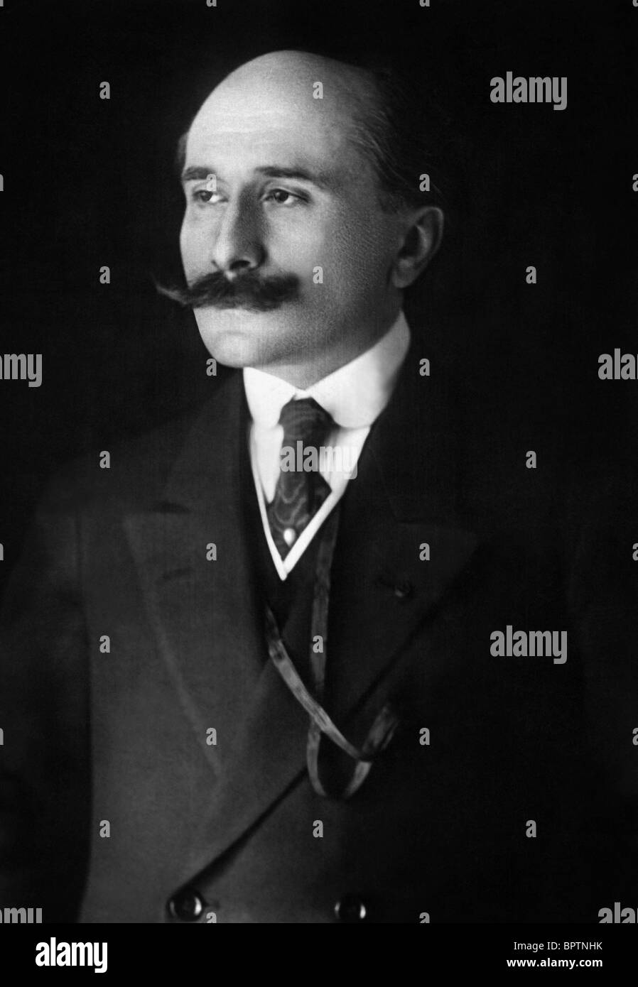 EDMOND ROSTAND WRITER AUTHOR (1918) - Stock Image