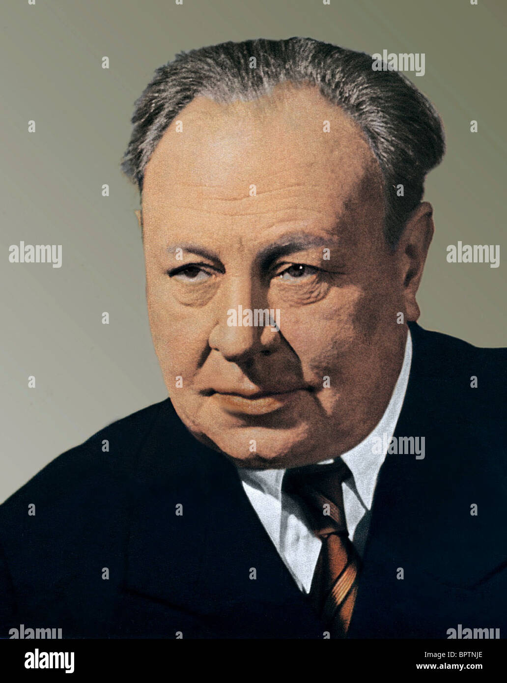 EMIL JANNINGS ACTOR (1942) - Stock Image
