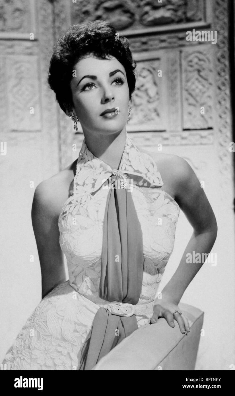 ELIZABETH TAYLOR ACTRESS (1958) - Stock Image