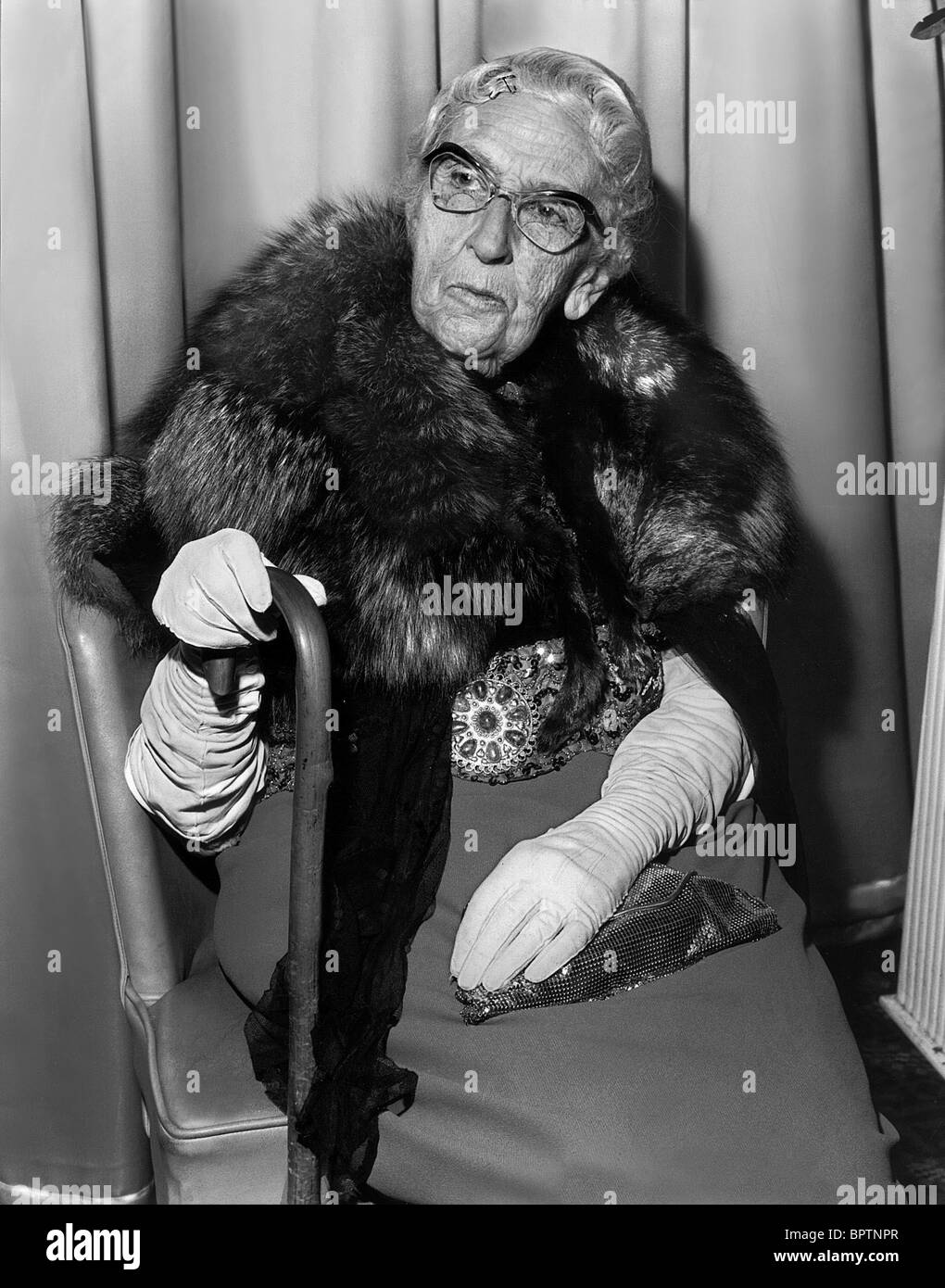 AGATHA CHRISTIE WRITER MURDER MYSTERY NOVELS (1972) - Stock Image