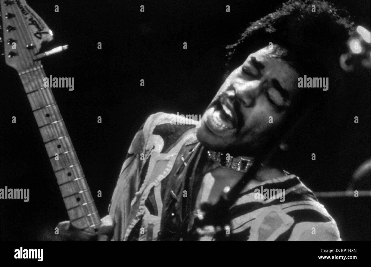 JIMI HENDRIX ROCK MUSICIAN (1970) Stock Photo