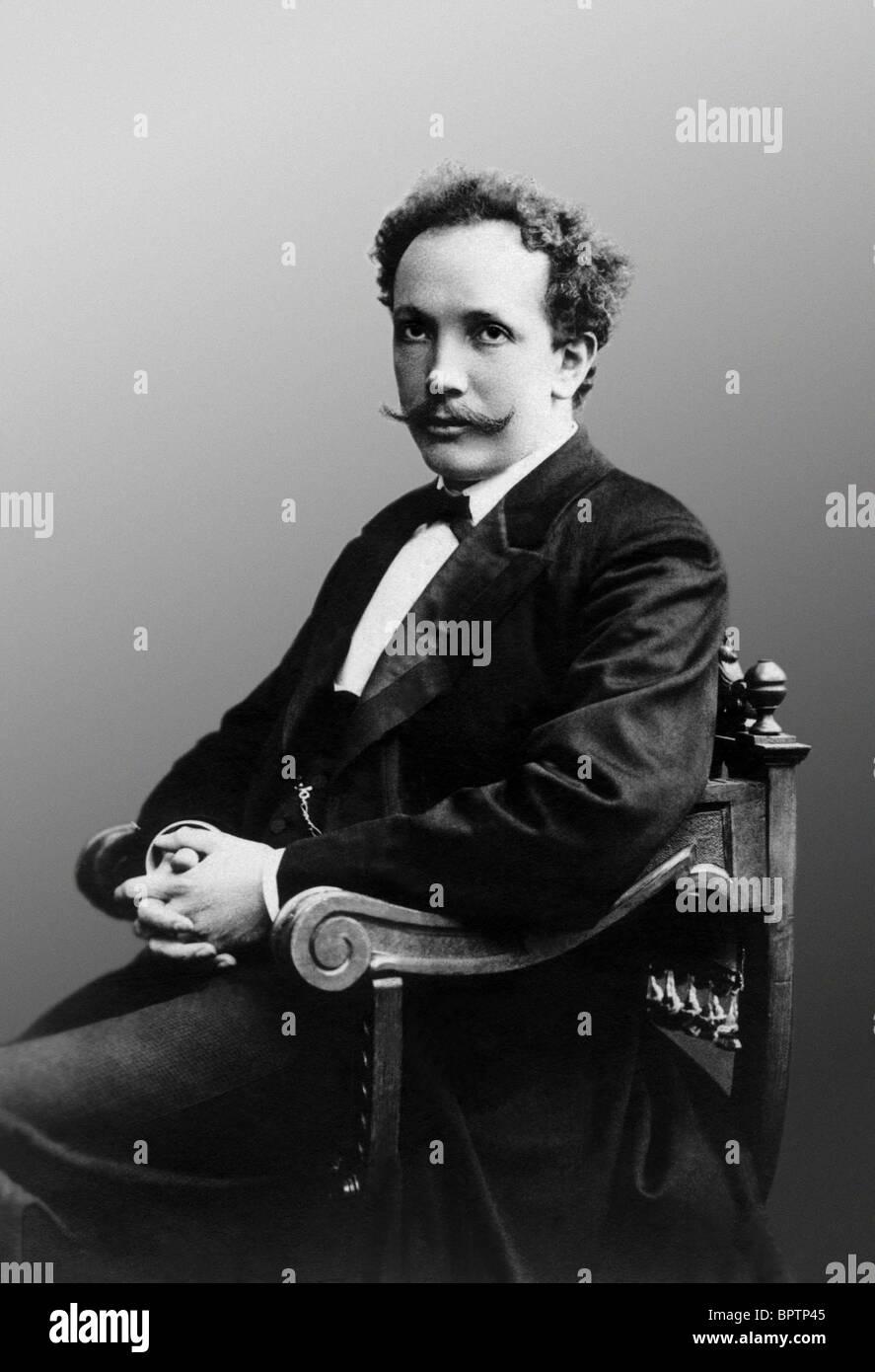 RICHARD STRAUSS COMPOSER (1894) Stock Photo