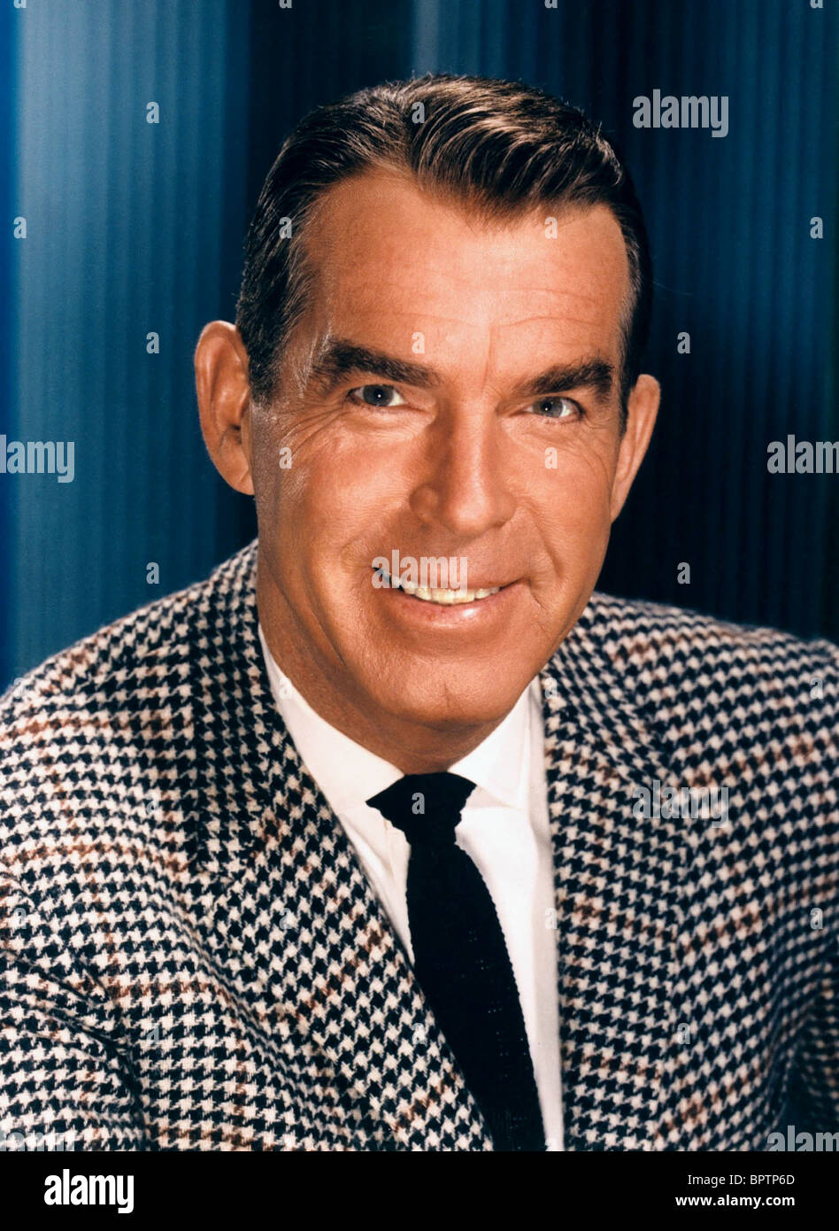 FRED MACMURRAY ACTOR (1960) - Stock Image